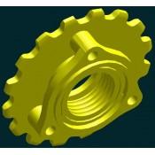 ЗВЕЗДОЧКА СЗ-3,6А(сеялка) Z=16, t=31.75 (ступ. колеса опорн)